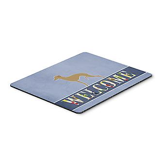 Italian Greyhound Welcome Mouse Pad, Hot Pad or Trivet