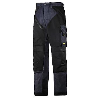 Snickers RuffWork, Denim Work Trousers with Knee Pad Pockets – 6305