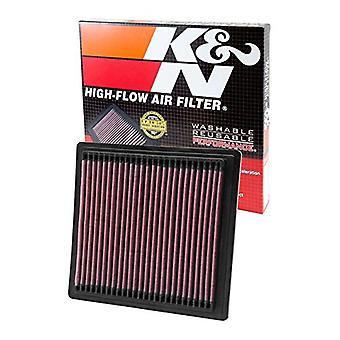 K&N 33-2104 High Performance Replacement Air Filter