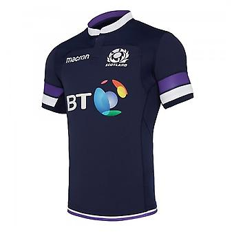 2017-2018 Ecosse immobilier authentique Pro Body Fit Rugby Shirt