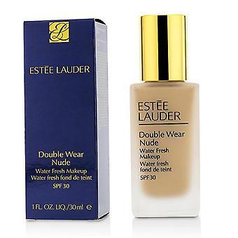 Estee Lauder Double Wear Nude Water Fresh Makeup SPF 30 - # 2C2 Pale Almond - 30ml/1oz