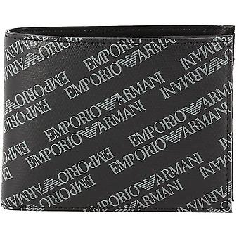 Emporio Armani - portfolio two shutters Lettering with compartment currency - acronym