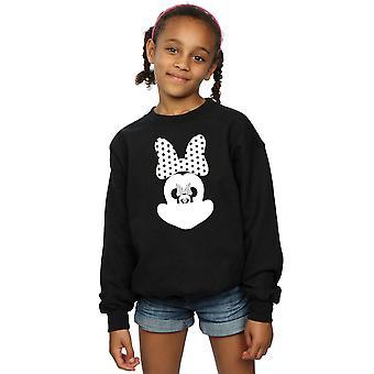 Disney-Mädchen-Minnie Mouse-Spiegel-Illusion-Sweatshirt