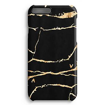 iPhone 7 Plus Full Print-Fall - Gold Marmor