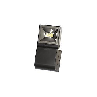 Timeguard Compact LED Energy Saving Floodlight, 10W LED, Black