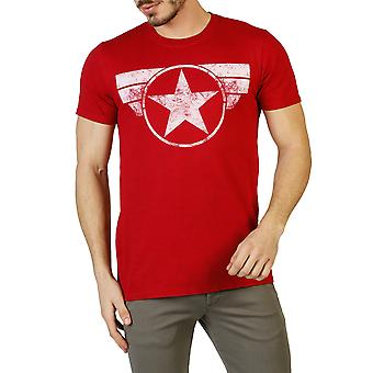 Marvel Men T-shirts Red