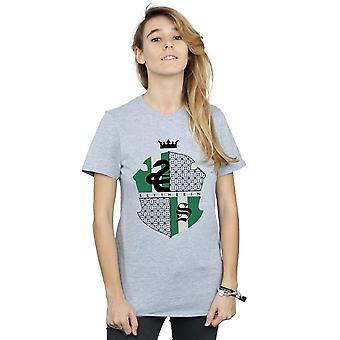 Harry Potter Women's Slytherin Shield Boyfriend Fit T-Shirt