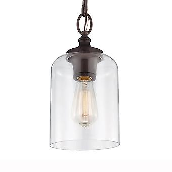 Feiss Hounslow Mini Pendant In Oil Rubbed Bronze