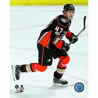 Hampus Lindholm 2017-18 akcji Photo Print