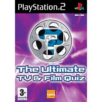 The Ultimate TV  Film Quiz (PS2) - Factory Sealed