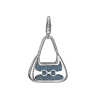 ESPRIT pendant of charms silver denim shopper XLESZZ90680A000
