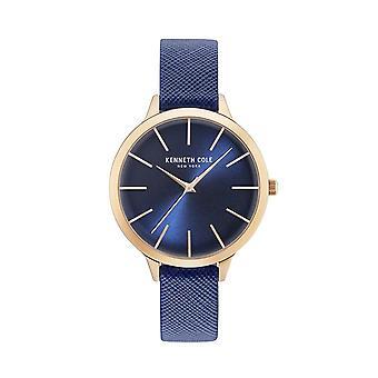 Montre montre-bracelet en cuir Kenneth Cole New York féminine KC15056005
