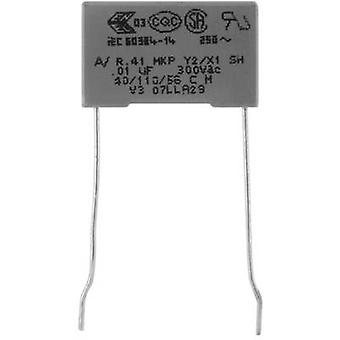 Kemet R413I21000000M+ 1 pc(s) MKP suppression capacitor Radial lead 10 nF 300 V 20 % 15 mm (L x W x H) 18 x 5 x 11