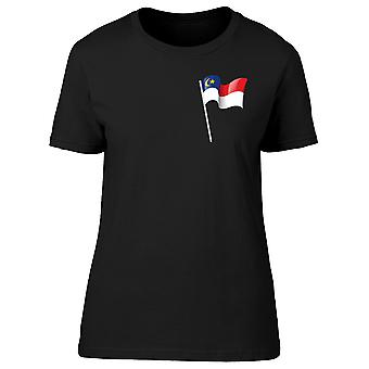 Malaysia Federal Territory Flag Tee Women's -Image by Shutterstock
