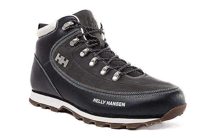 Helly Hansen natural leather trekking Navy shoes the Forester Navy trekking c48015