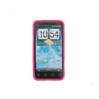 5 Pack -Technocel Slider Skin Case Cover HTC EVO 3D (Pink)