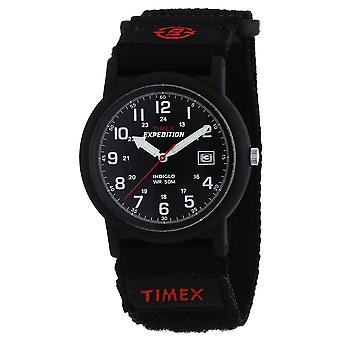 Timex T40011 Expedition Camper Black Faststrap Watches