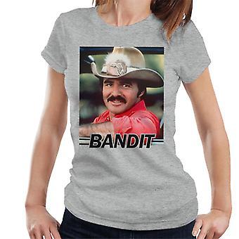 Smokey And The Bandit Burt Reynolds Women's T-Shirt