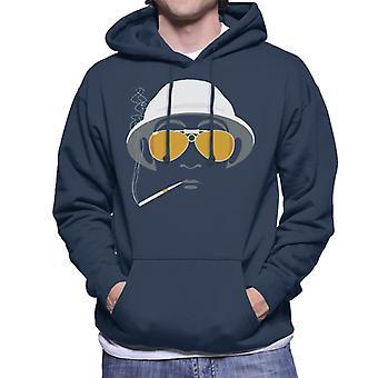 Must Read Books Fear And Loathing In Las Vegas Men's Hooded Sweatshirt