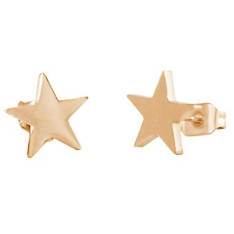 GEMSHINE high quality earrings with stars. Earrings in silver, gold, rose gold plated. Made in Madrid / Spain. Supplied quality jewelry in the elegant case.
