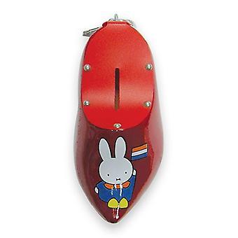 Nijntje Spaarpotklomp 14 cm rood