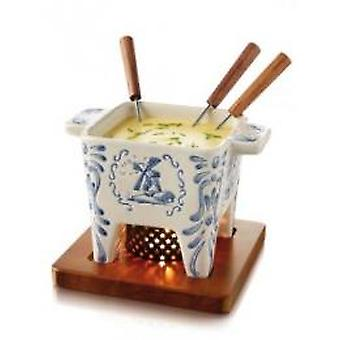 Boska cheese fondue Delft blue 400 ml