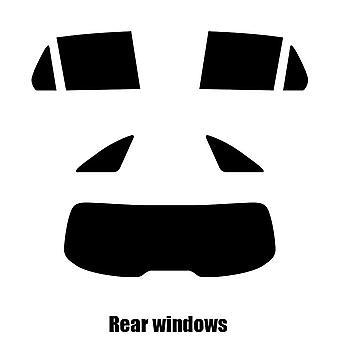 Pre cut window tint - Mercedes GLC - 2015 and newer - Rear windows