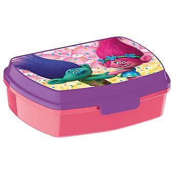 Trolls Lunch Box Pink/Purple