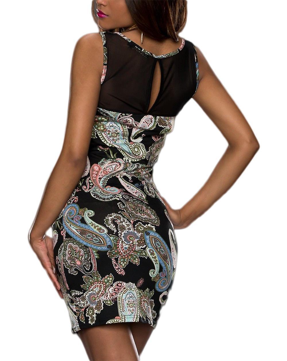 Waooh - Floral Print Dress Madory