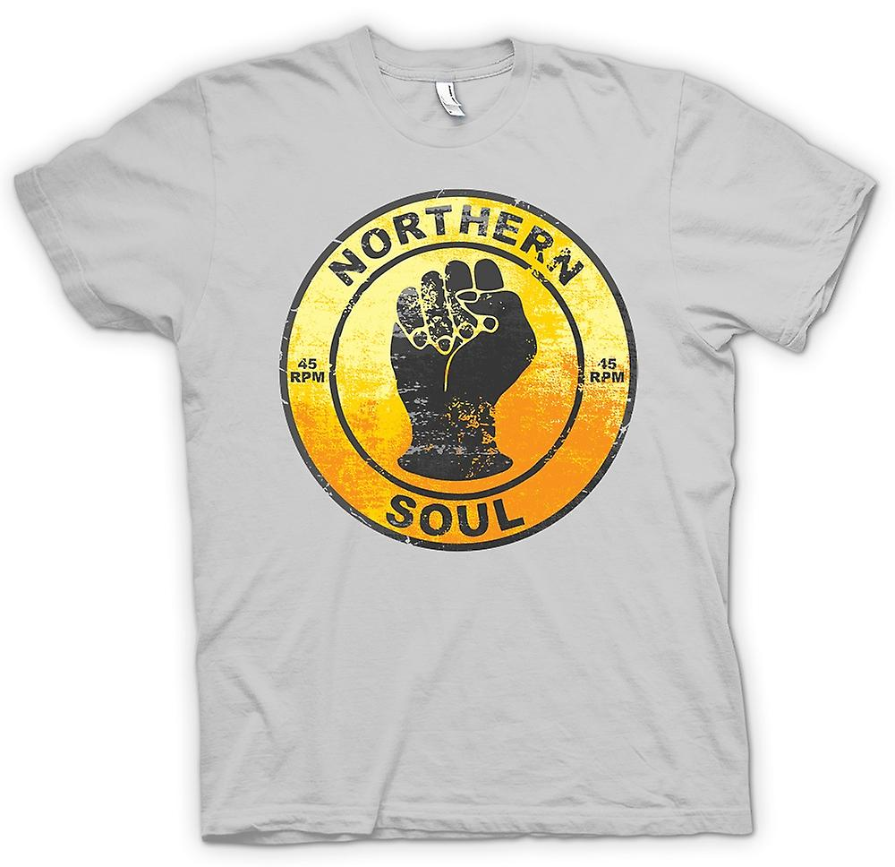 Mens T-shirt - Northern Soul - Vinyl Musik