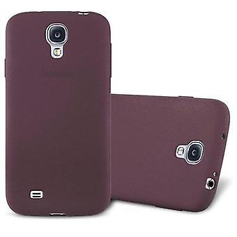 Cadorabo kotelo Samsung Galaxy S4 kotelo Cover-joustava TPU silikoni kotelo erittäin ohut pehmeä takakannen kotelo puskuri