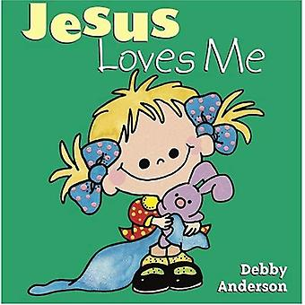 Jesus Loves Me (Debby Anderson Board Books)