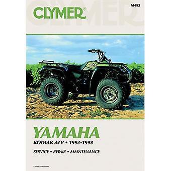 Yamaha Kodiak Atv, 1993-1998: Service, Repair, Maintenance