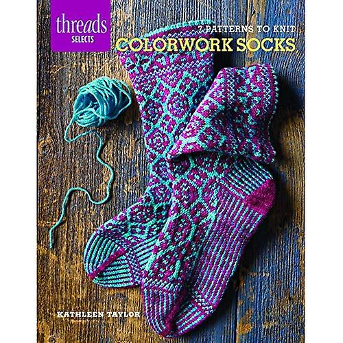 Colorwork Socks: 7 Patterns to Knit (Threads Selects)