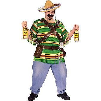 Mexikanische Kerl Erwachsenen Plus Größe Kostüm
