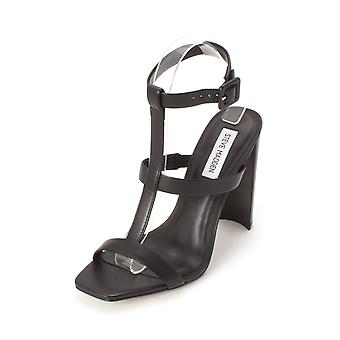 Steve Madden Womens Megan NuBuck Open Toe Special Occasion Ankle Strap Sandals