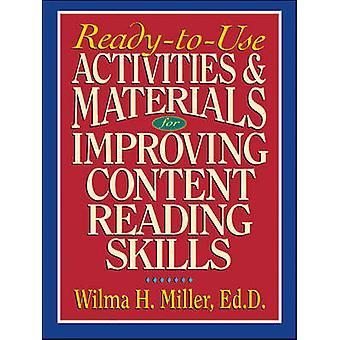 تحسين مهارات القراءة محتوى ميلر