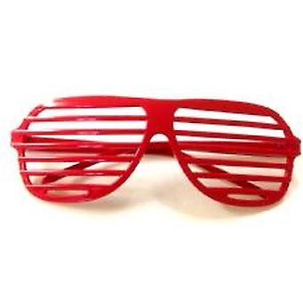 Shutter Shades - rosso