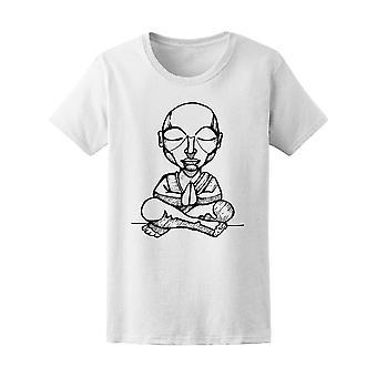 Budhist monnik tekening Tee mannen-beeld door Shutterstock