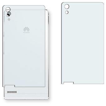 Huawei Ascend P6 back screen protector - Golebo crystal clear protection film
