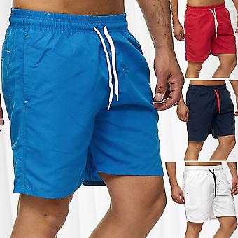 Men's swimming trunks Bermuda Shorts Swim trunks Swimwear Beachwear Mesh Slip