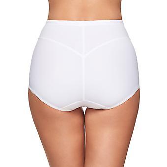 Susa 664-3 Damen Capri weiß voll Panty Highwaist kurz