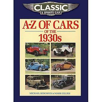 Classic and Sports Car Magazine A-Z of Cars of the 1930s