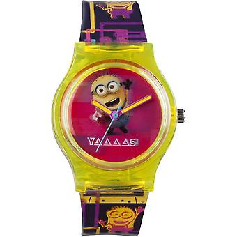 Despicable Me 3 80's Style Minion Analogue Watch