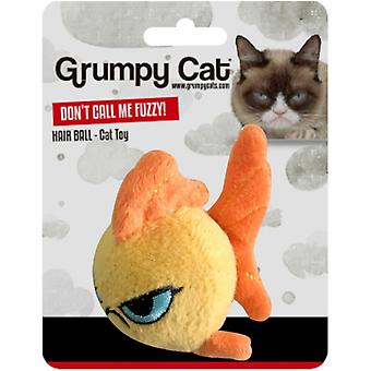 Rosewood Grumpy Cat Don�'t Call Me Fuzzy! Fish Cat Toy