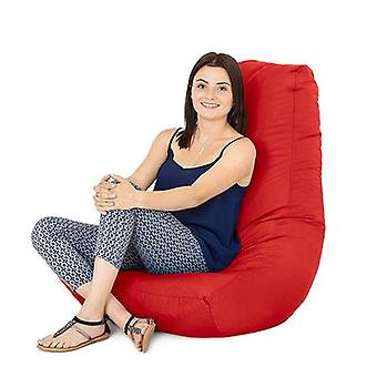 Red Water Resistant Outdoor Gaming Bean Bag Highback Lounger Chair