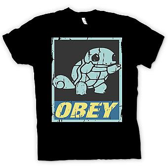Kids T-shirt - Squirtle Obey - Cool Pokemon Inspired