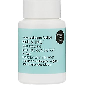 Nails inc Foot Nail Polish Remover Pot (11293) 60ml