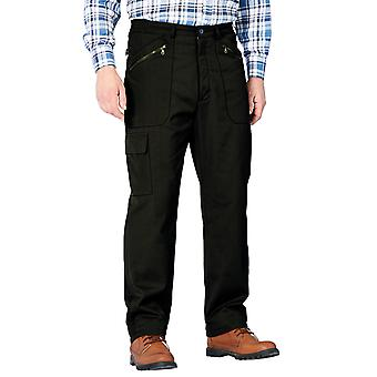 Mens HIGH-RISE Lined Action Trouser Pants