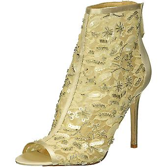 BADGLEY MISCHKA Womens Verona Open Toe Ankle Fashion Boots